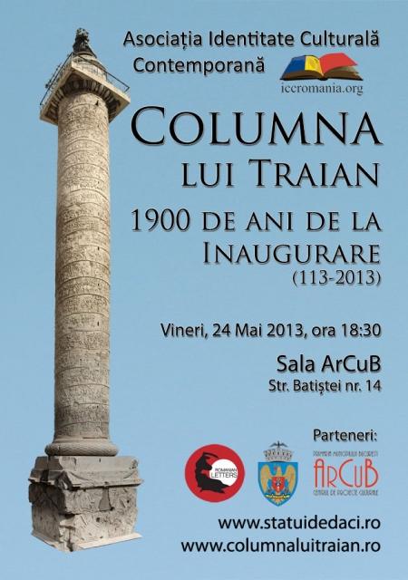 Columna Lui Traian 1900 De Ani De La Inaugurare Arcub