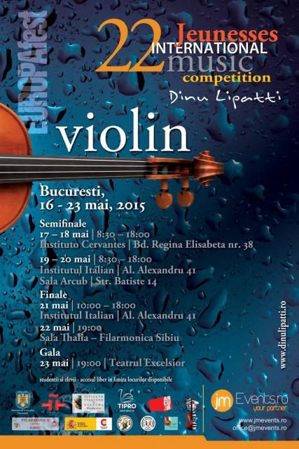 Jeunesses International Music Competition Dinu Lipatti