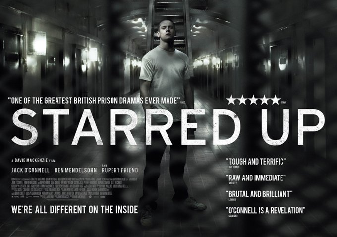 Starred Up - poster orizontal
