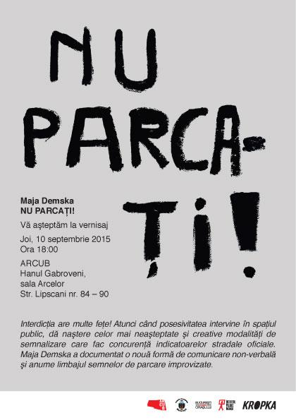 invitation NU PARCATI!