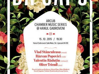 Afis DA CAPO ARCUB CHAMBER MUSIC SERIES