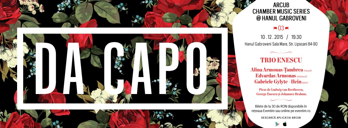 Banner DA CApo ARCUB