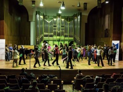 Ateliere de ritmică Dalcroze. Foto: Daniel Oprea 10 11 martie