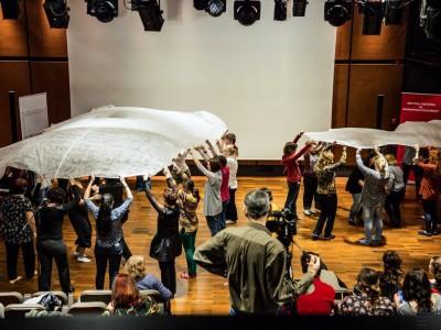Ateliere de ritmică Dalcroze. Foto: Daniel Oprea